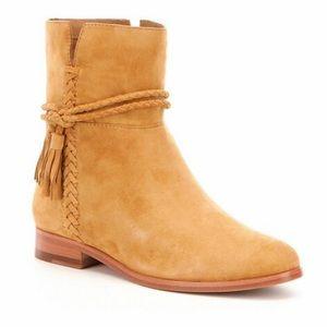 FRYE Tina Whipstitch Tassel Boot Sz 8 NWT